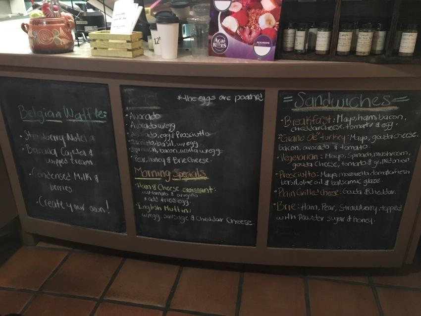 ベルギーワッフルやサンドイッチ...