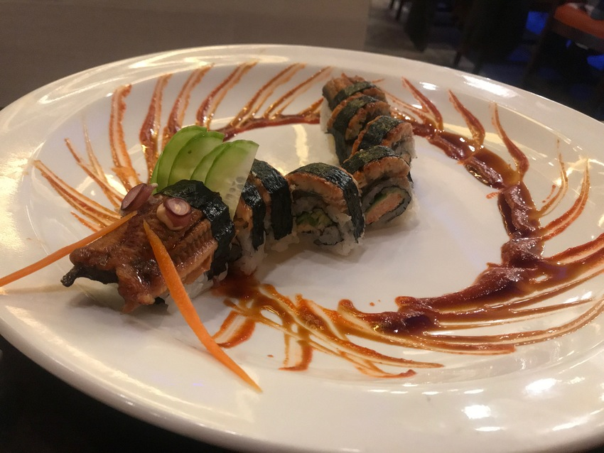 Real Dragon Roll