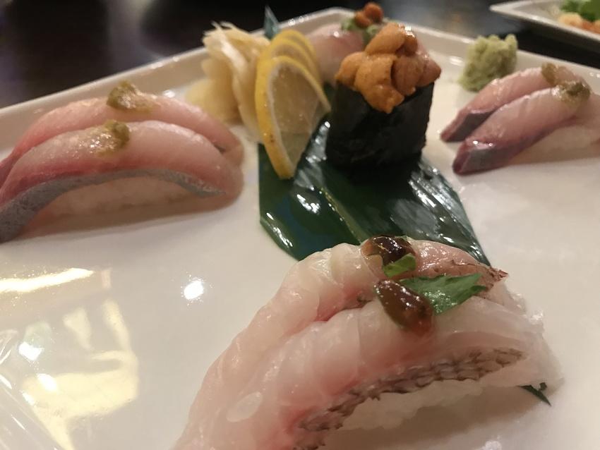 シェフおすすめ5種類寿司コンボ