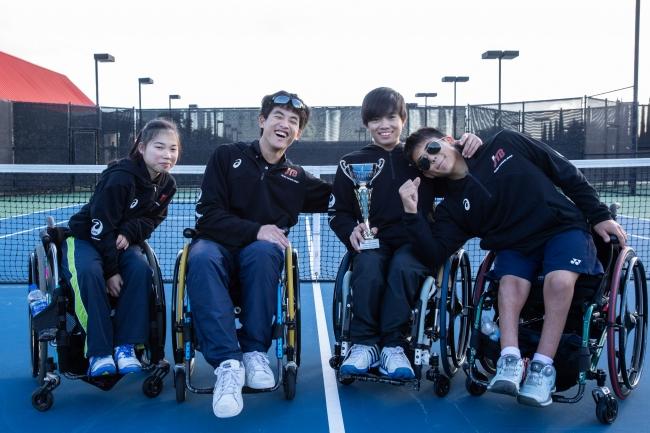 優勝した日本選手達