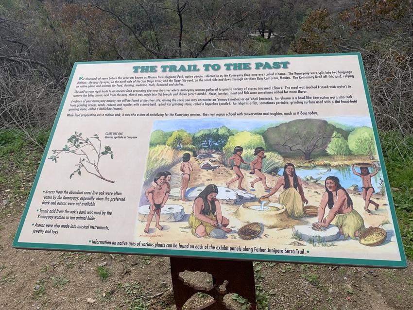 この地域は昔、先住民Kumey...