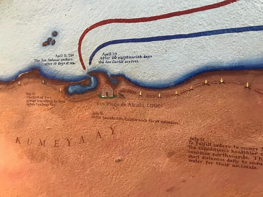 1769年にここへ到着