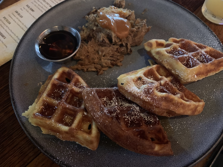 Pulled Pork & Waffles