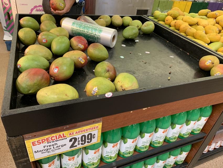 驚きの安さのマンゴー!大人気で...
