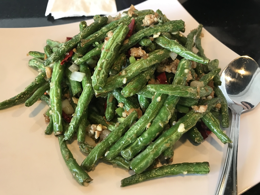Spicy Pan-Fried String Beans ...