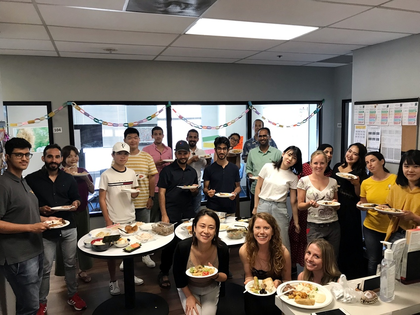 International Potluck Party
