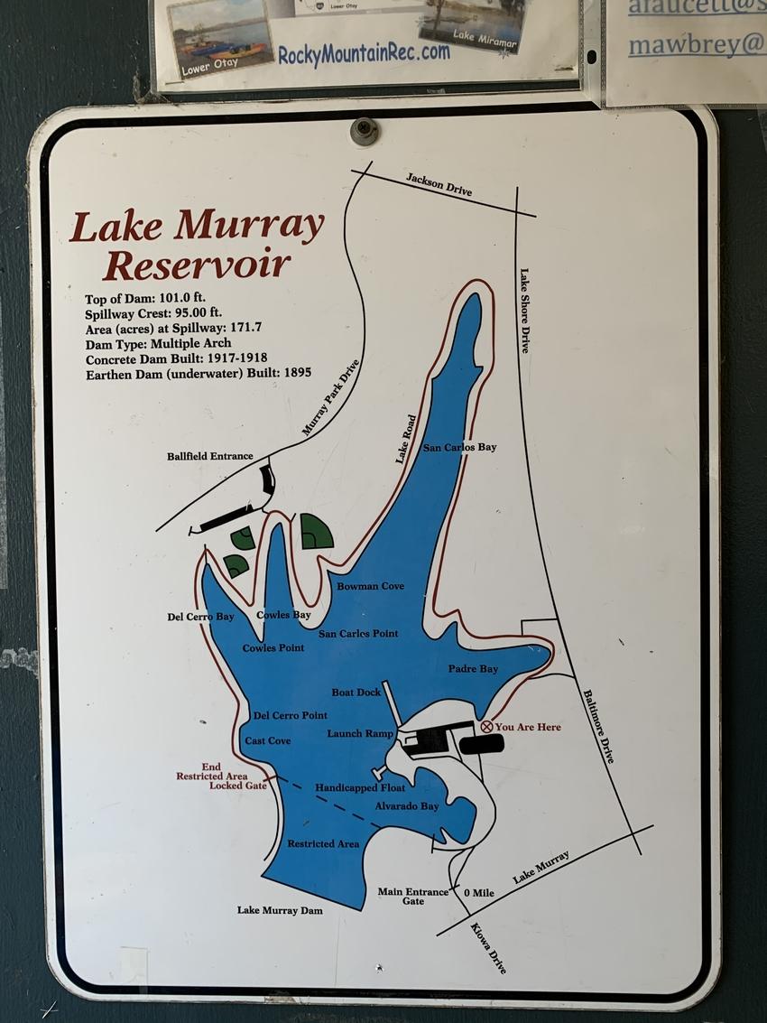 Lake Murrayの簡易マ...