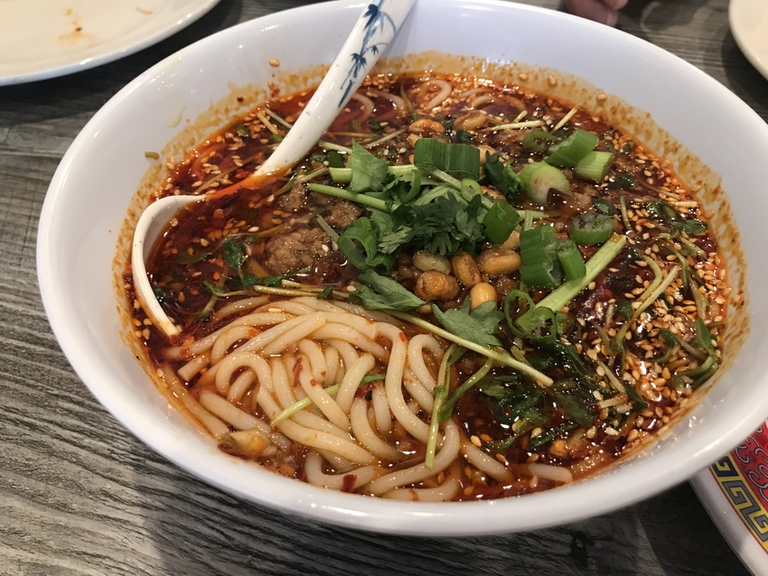 Hot & Sour Rice Noodle Soup