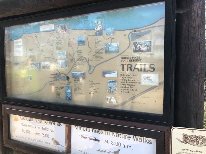 Beach Trail入り口付...