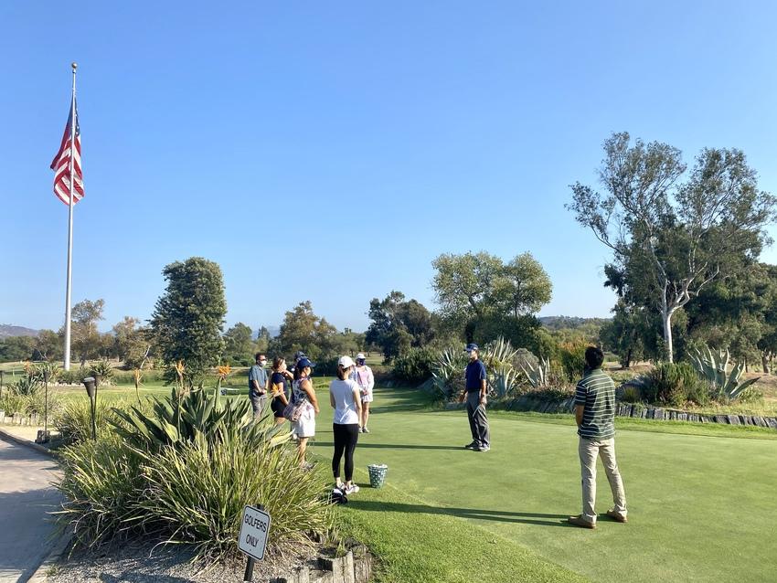 サンディエゴ:ゴルフを趣味にす...