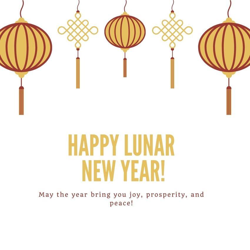 Lunar New Year ...