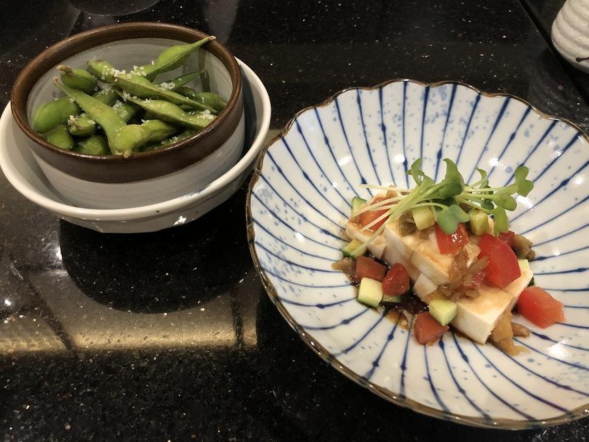 枝豆とTofu Salad
