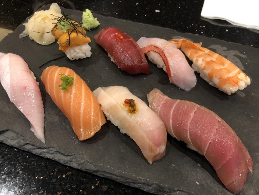 お寿司の盛り合わせ(Delux...