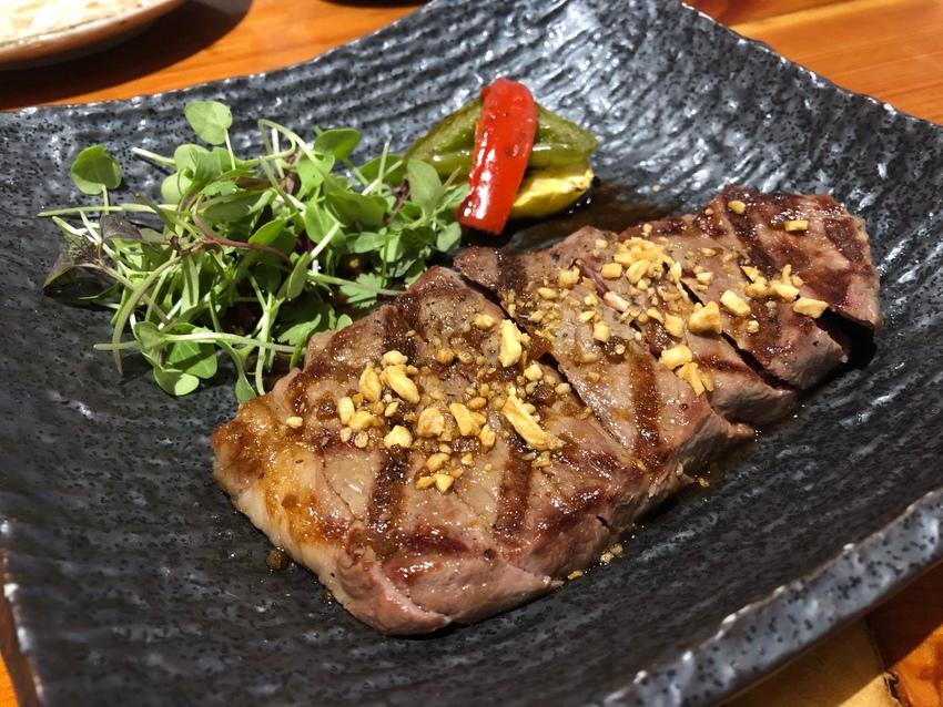 garlic Sause Steak
