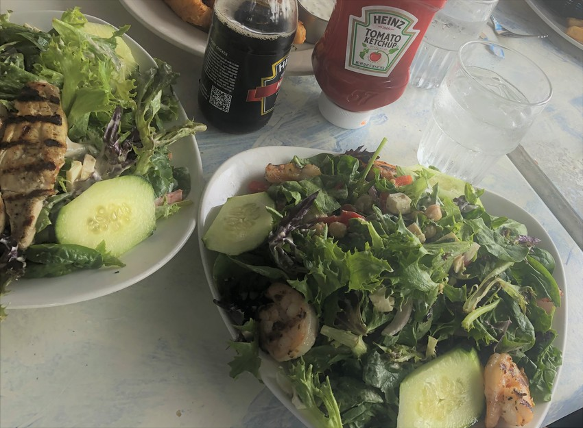 Mediterranean Salad with jumb...