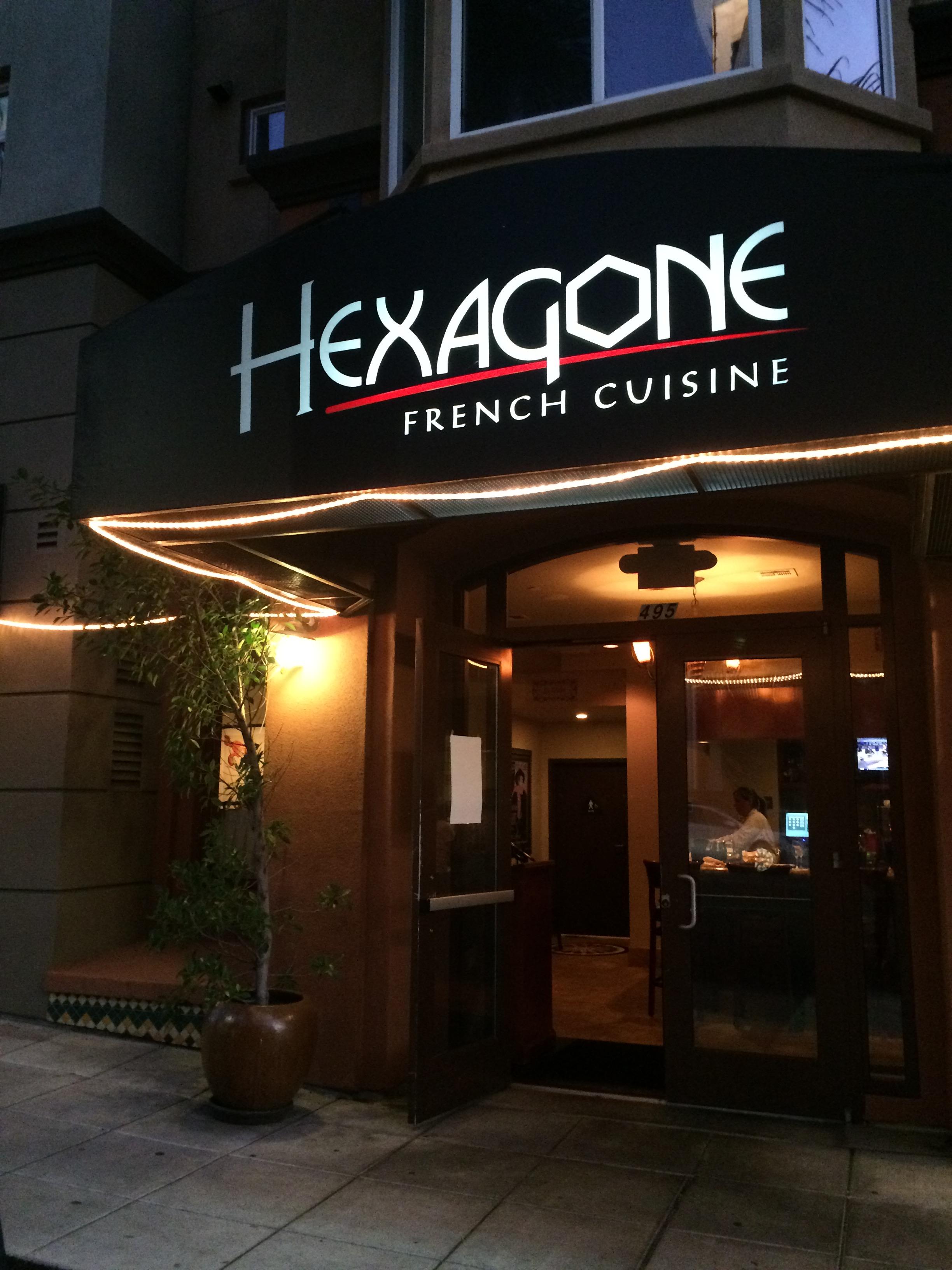 Hexagon Restaurant Week Menu
