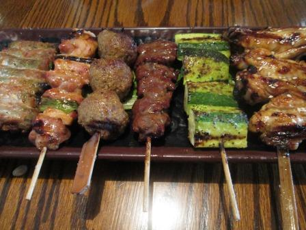 Yakitori house where you can ...