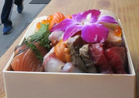 Tsukiji-brand high-end donburi...