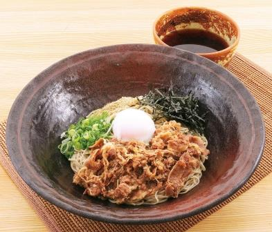Popular with fresh made Soba...