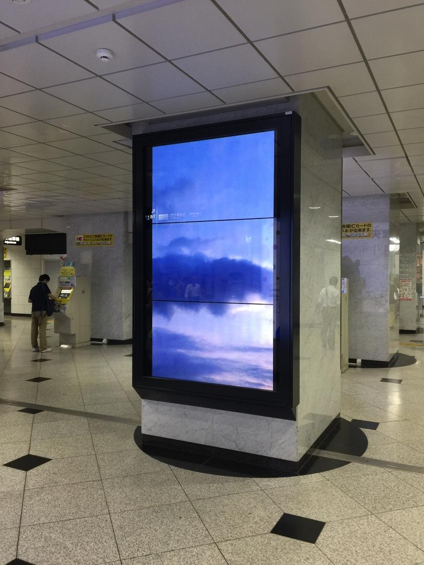LED 大型画面広告