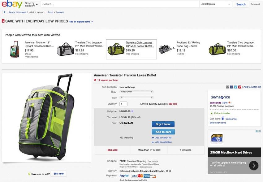 eBay を利用して米国市場開...