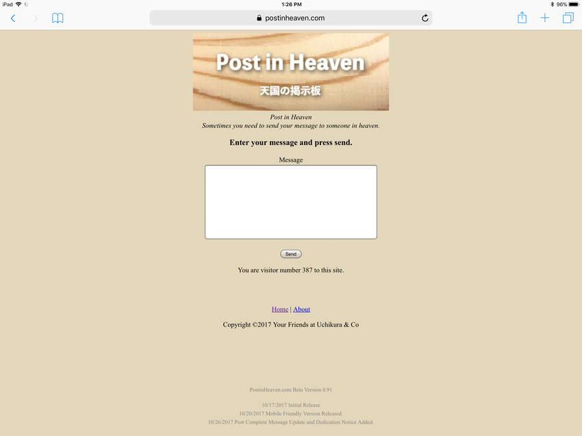 PostinHeaven.com is accessible...