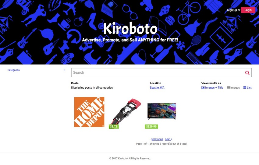 Kiroboto Category Reset