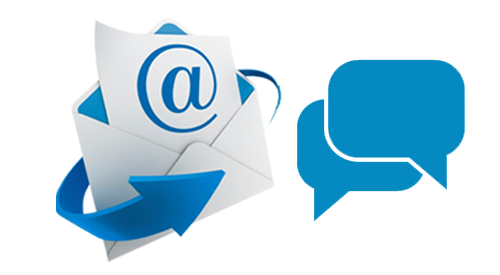 Email and Chat