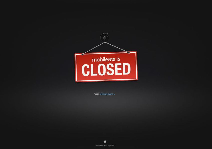 Back in 2012 ... Apple Closed ...