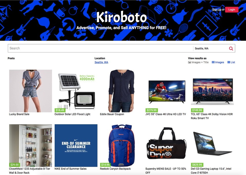 Check out the deals at Kiroboto