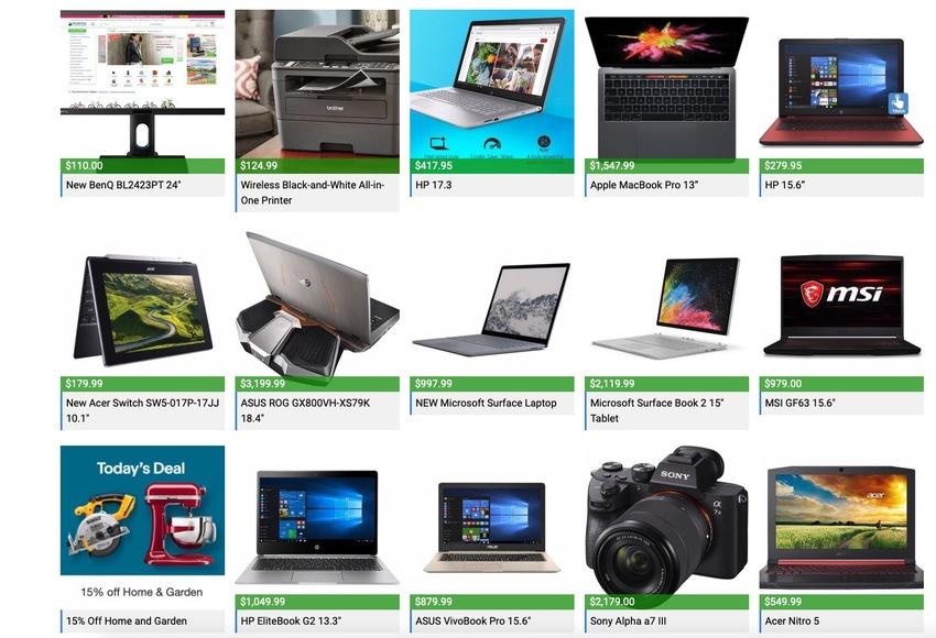 Laptop and Tech Deals