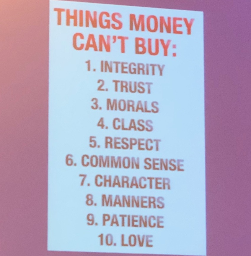 Something You Cannot Buy
