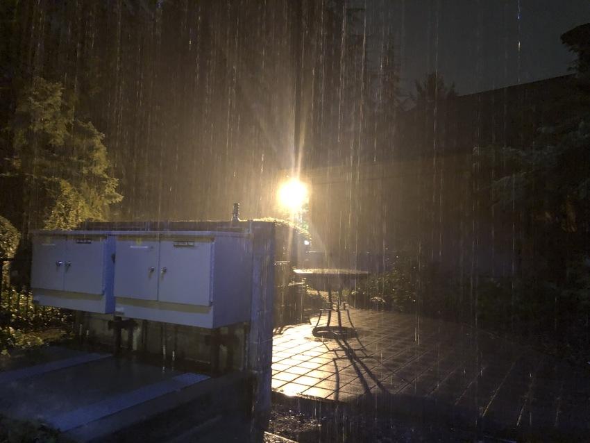 Rain ... Thunder Storm