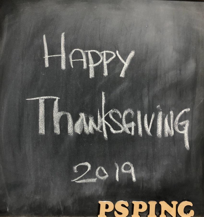 Happy Thanksgiving 2019