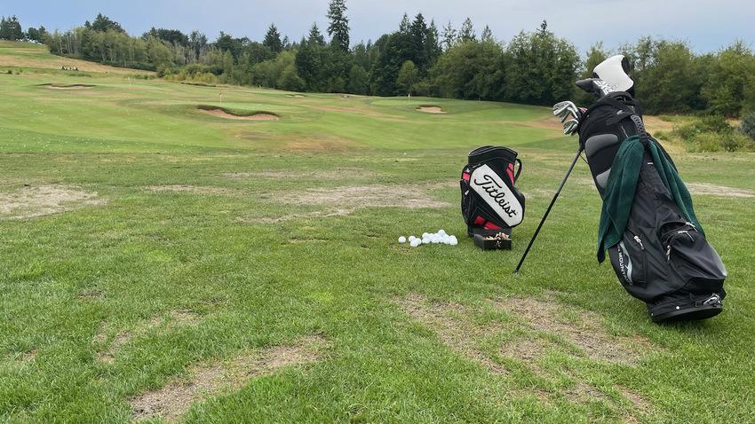 土曜日のゴルフ