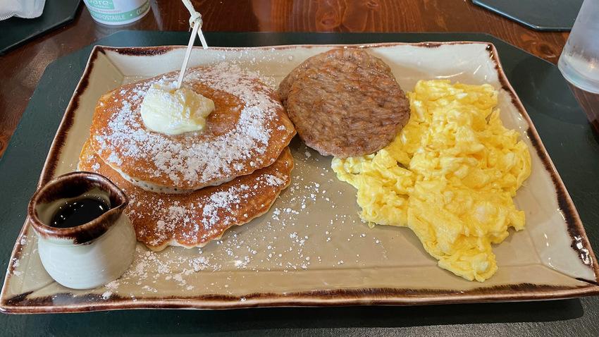 米国の朝食