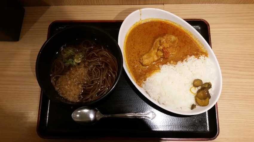 Soba and curry