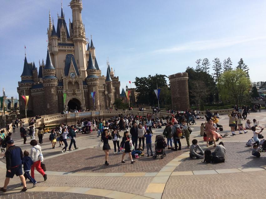 Tokyo Disneyland in spring!