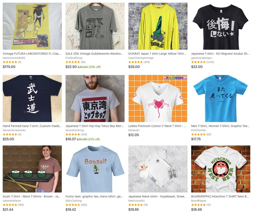 Japanese Language T Shirt