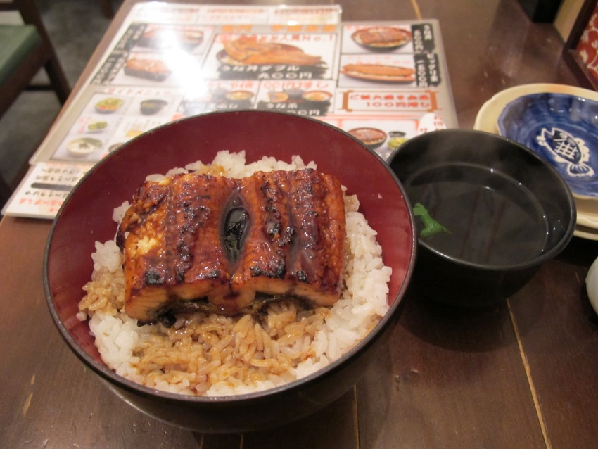 Unadon ... Unagi (teriyaki eel)...