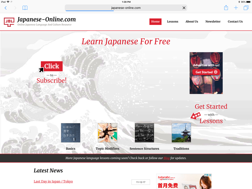 Japanese-Online Site in China