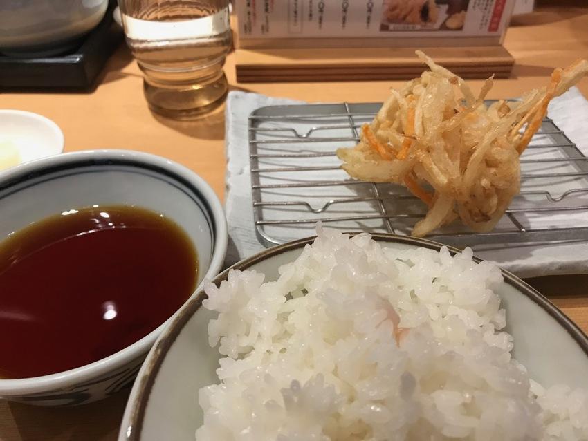 760 Yen ($6.50) Tempura Lun...