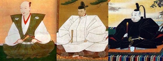 Oda Nobunaga, Toyotomi Hidey...