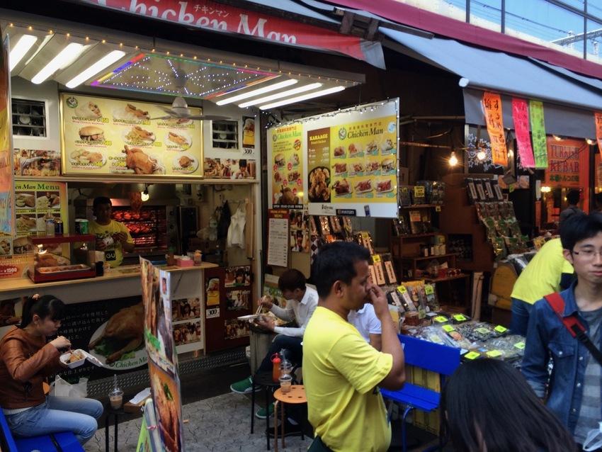 Street Foods in Japan