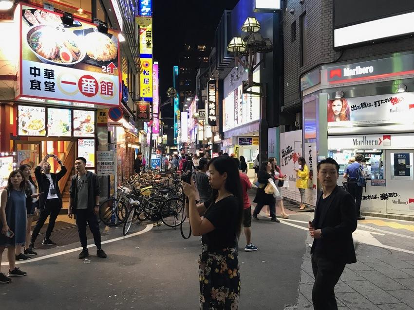 Night Sights in Shinjyuku