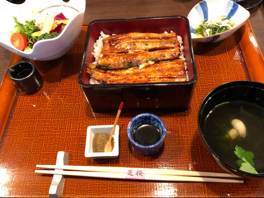 Unajyu for Lunch