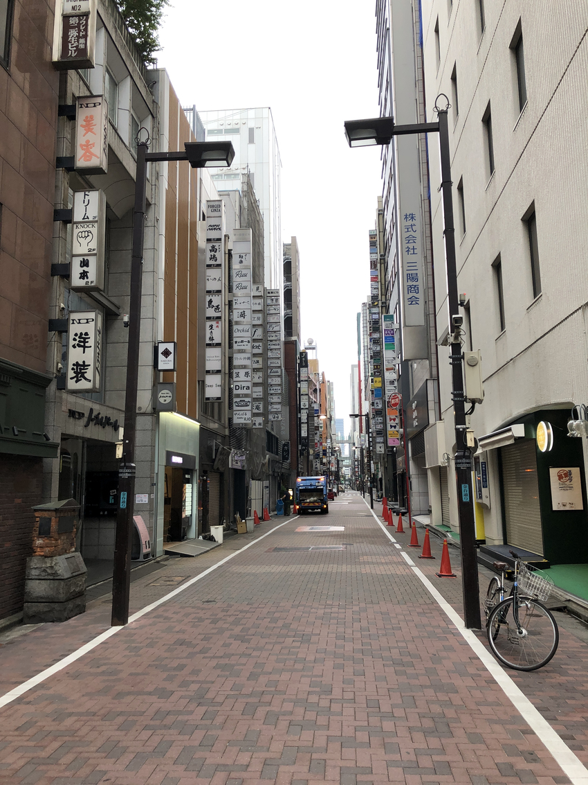 Back Street of Ginza