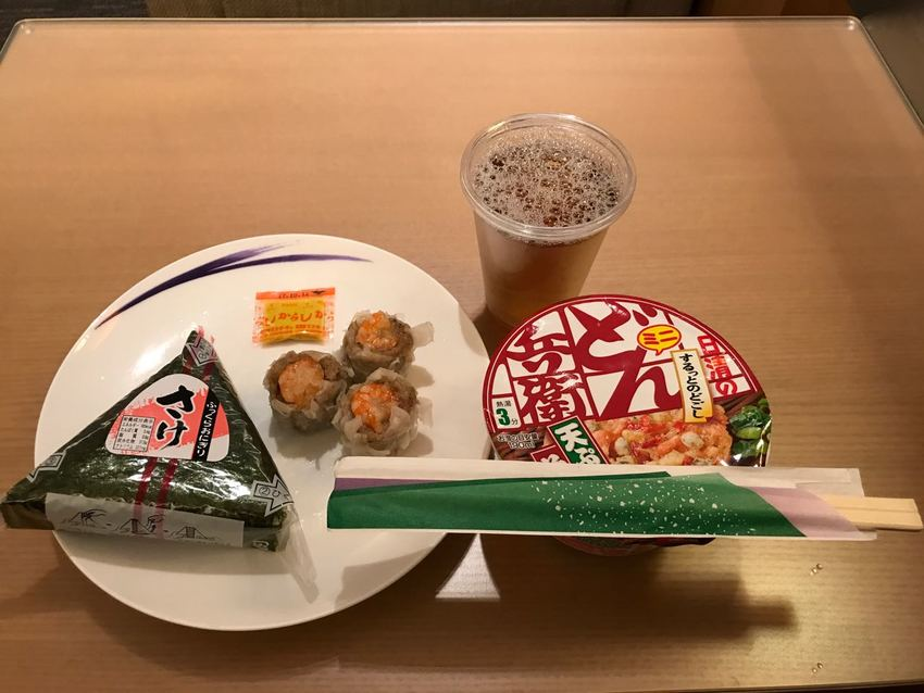 Japanese Quick Lunch at Airport