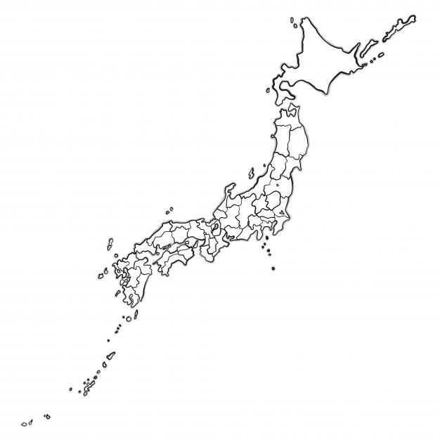 この地図で東京はどこですか。