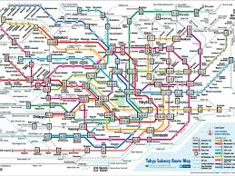 Tokyo Metro/subway Map